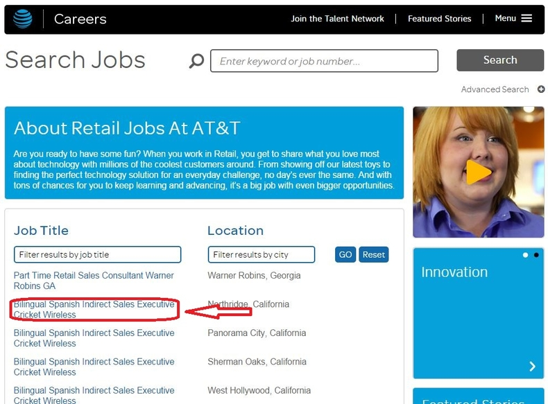 apply AT&T online step 3