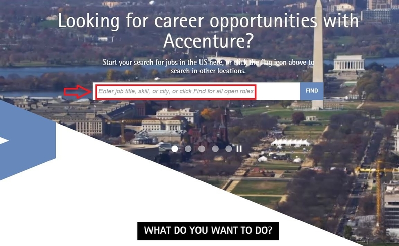 apply Accenture online step 1