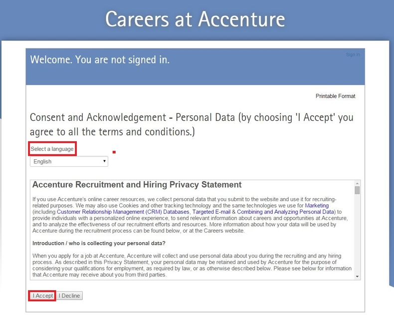 how to apply for accenture jobs online at accenture com careers