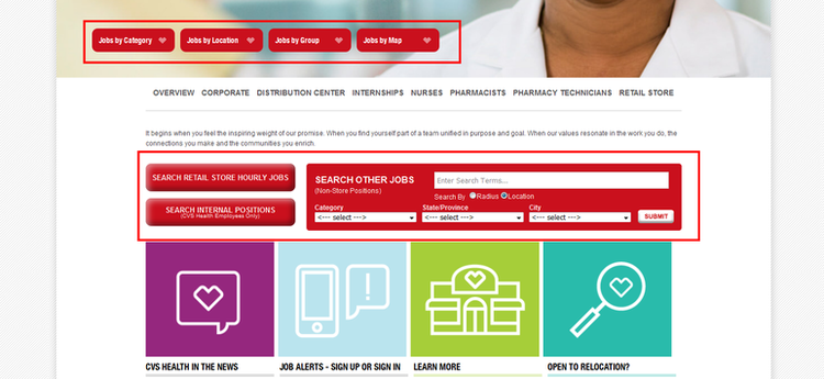 How To Apply For Cvs Jobs Online At Cvscareers