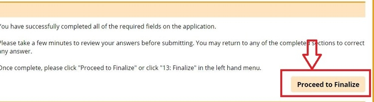 apply Carowinds online step 6