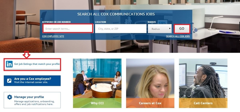 apply Cox online step 2