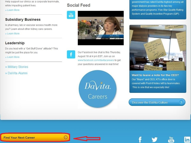 How to Apply for DaVita Jobs Online at davita com/careers