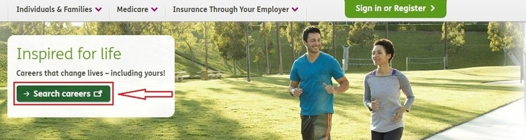 apply Humana online step 1