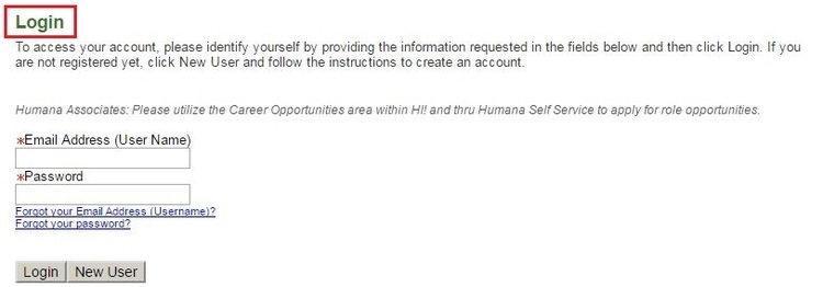 apply Humana online step 4
