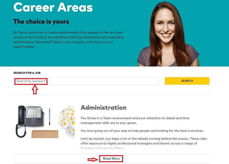 apply Optus online step 2