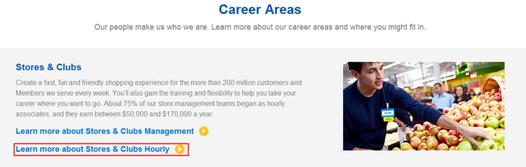 Step 1: Select A Department You'd Like to Work at