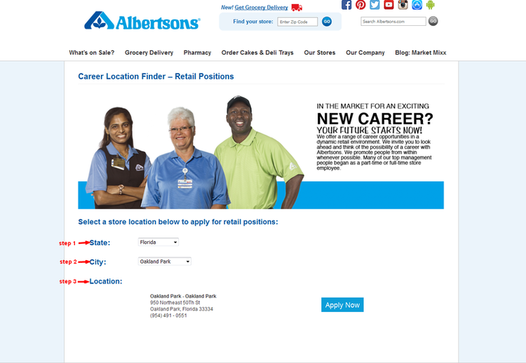 Albertsons Employment Opportunities