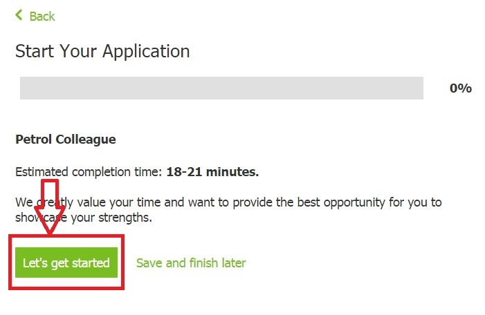 apply Asda online step 6
