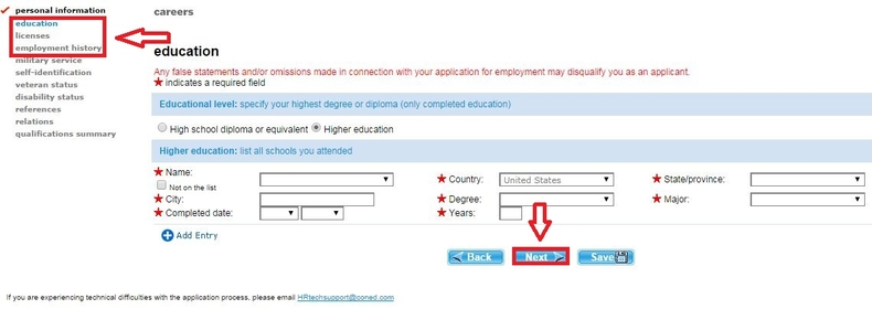 apply Con Edison online step 7