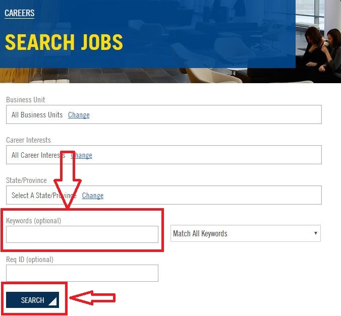 apply Goodyear online step 2