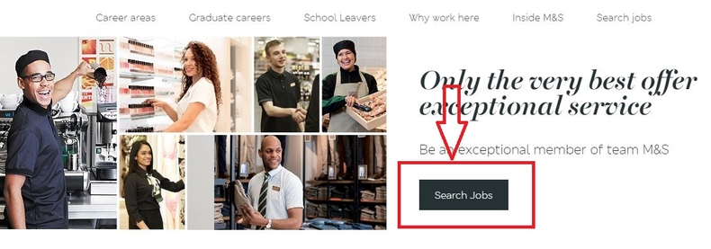 apply Marks and Spencer online step 1