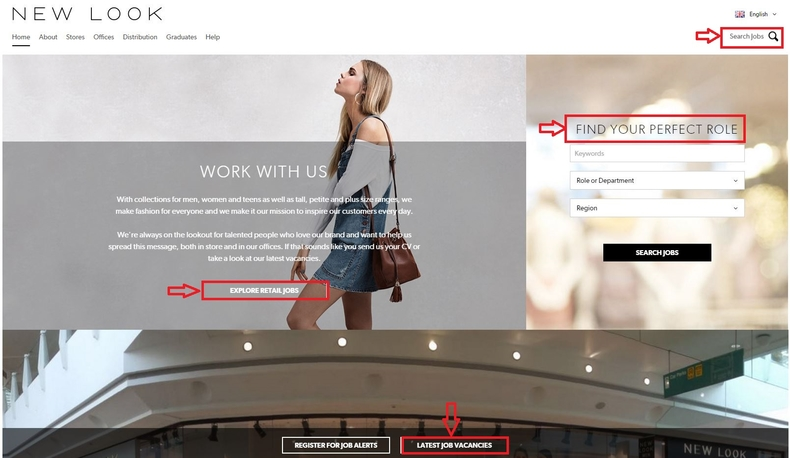 4280baed29d80 How to Apply for New Look Jobs Online at newlook.jobs