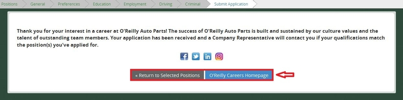 apply O'Reilly Auto Parts online step 10