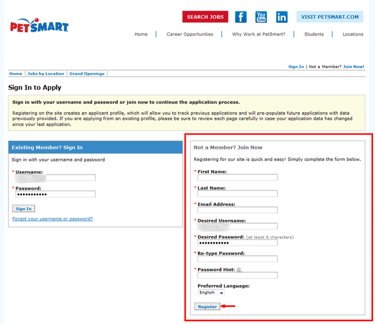 How to Apply for PetSmart Jobs Online at careers petsmart com