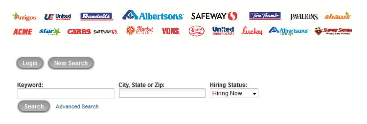 apply Safeway online step 3