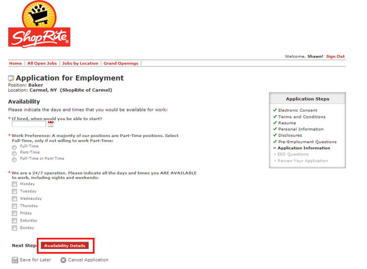 How To Apply For Shoprite Jobs Online At Shoprite Com Careers
