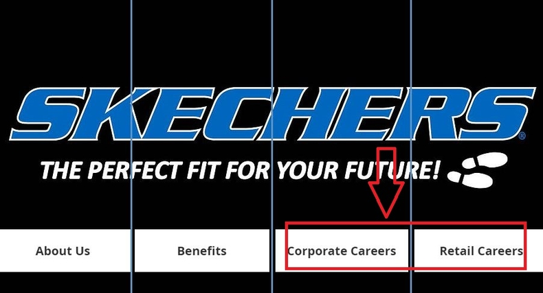 apply Skechers online step 1