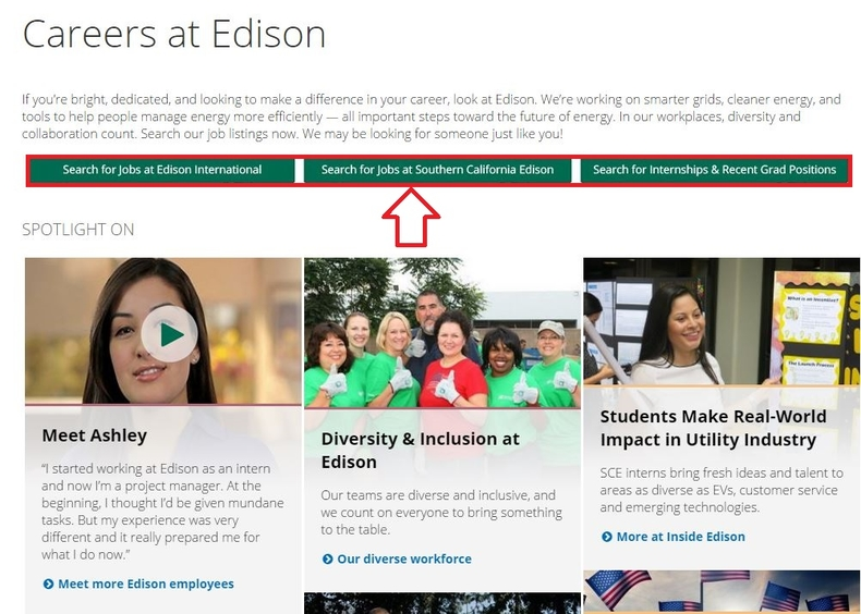 apply Southern California Edison online step 1