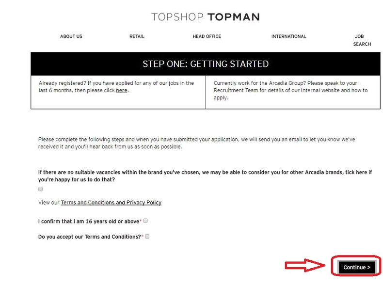 How To Apply For Topshop Jobs Online At Careerspshop