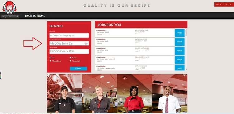 image relating to Printable Wendys Application named How in direction of Employ for Wendys Employment On the net at wendys.employment