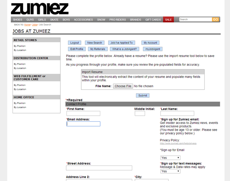 How To Apply For Zumiez Jobs Online At Zumiez Com Jobs