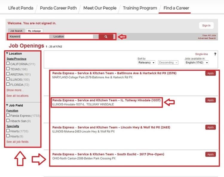 Versatile image regarding panda express application form printable