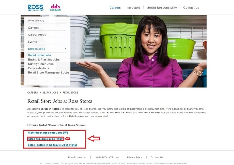 How to Apply for Ross Jobs Online at rossstores.com/careers
