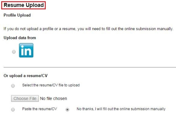 how to upload resume job resume upload