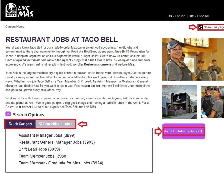 How-to-Apply-Taco-Bell-Online-Step-2 Taco Bell Job Application Form Print Out on