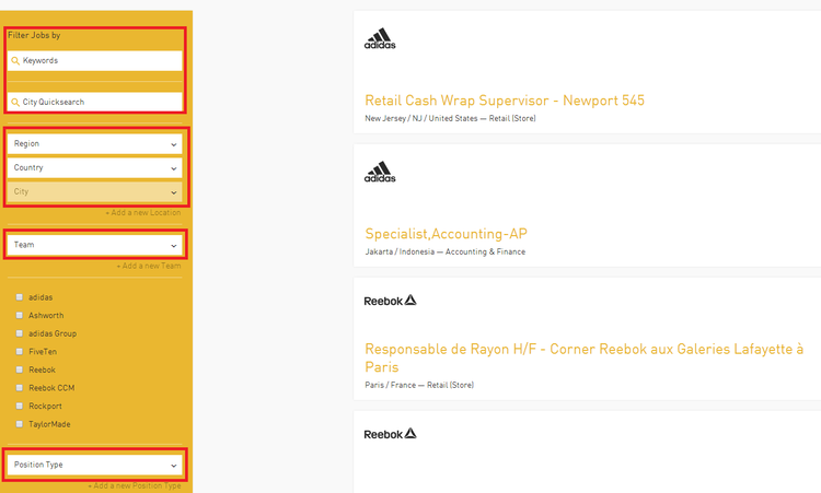 adidas store online application