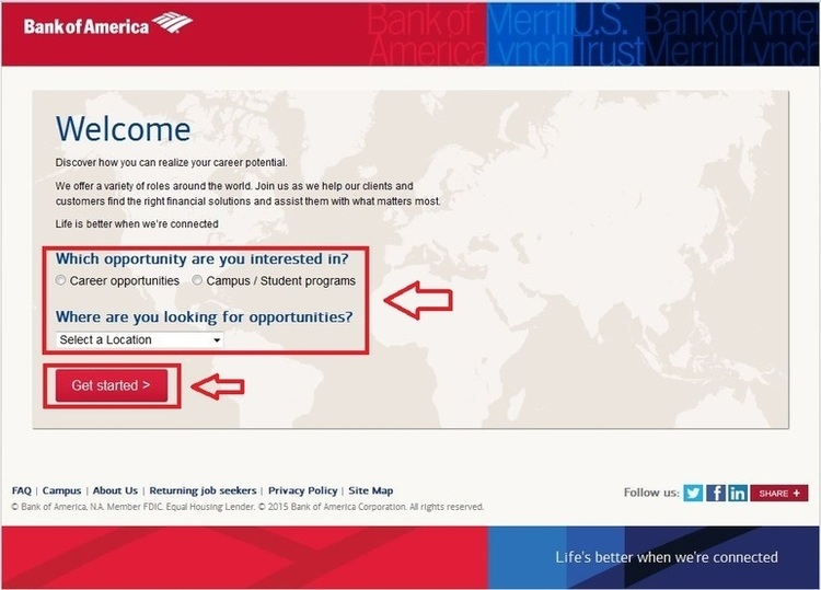 Welcome - Careers - Bank of America
