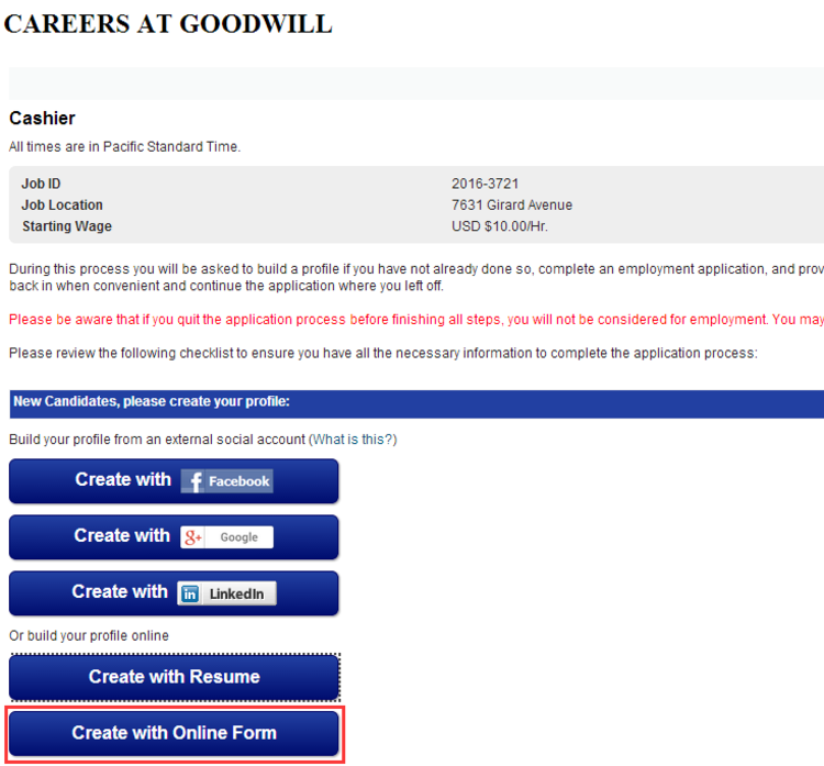 how to apply for goodwill jobs online at goodwill org  jobs