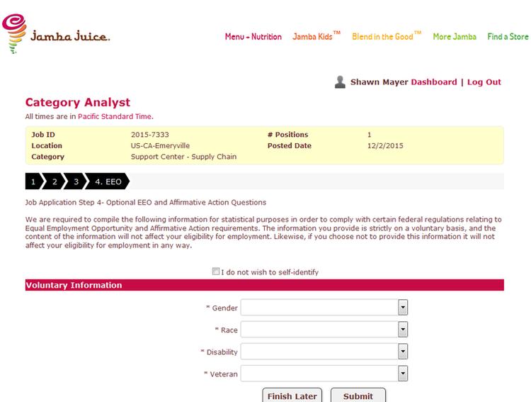 How-to-Apply-Jamba-Juice-Online-Step-8 Jamba Juice Application Print Out Form on starbucks job, taco bell, wingstop job, foot locker job,