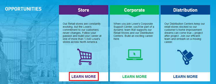 How To Apply For Lowes Jobs Online At Lowescareers