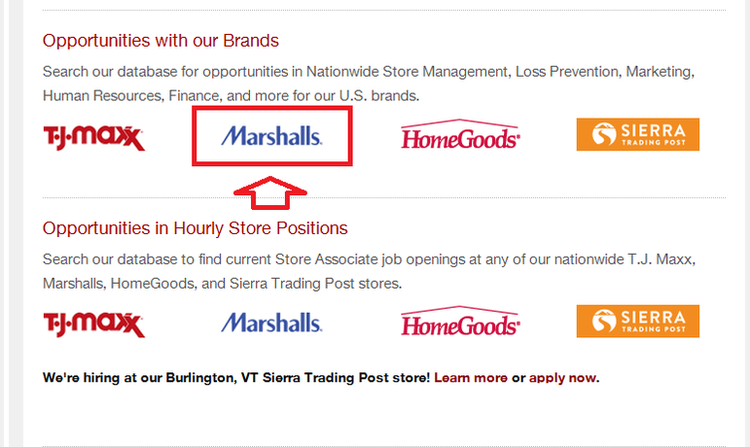 How To Apply For Marshalls Jobs Online At Tjxcareer
