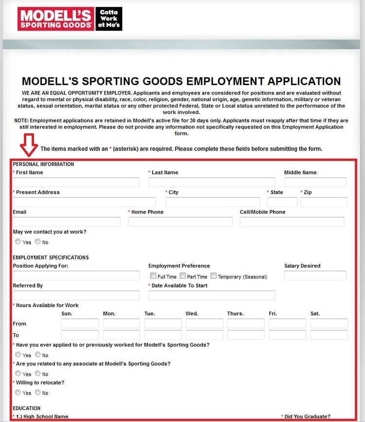 Offers apply to online stock only and exclude clearance items, gift certificates and gift cards. Modell's has a right to limit the amount of items purchased per customer under any online discount offer.