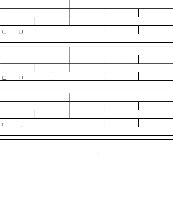 Free Printable Baskin Robbins Job Application Form Page 2