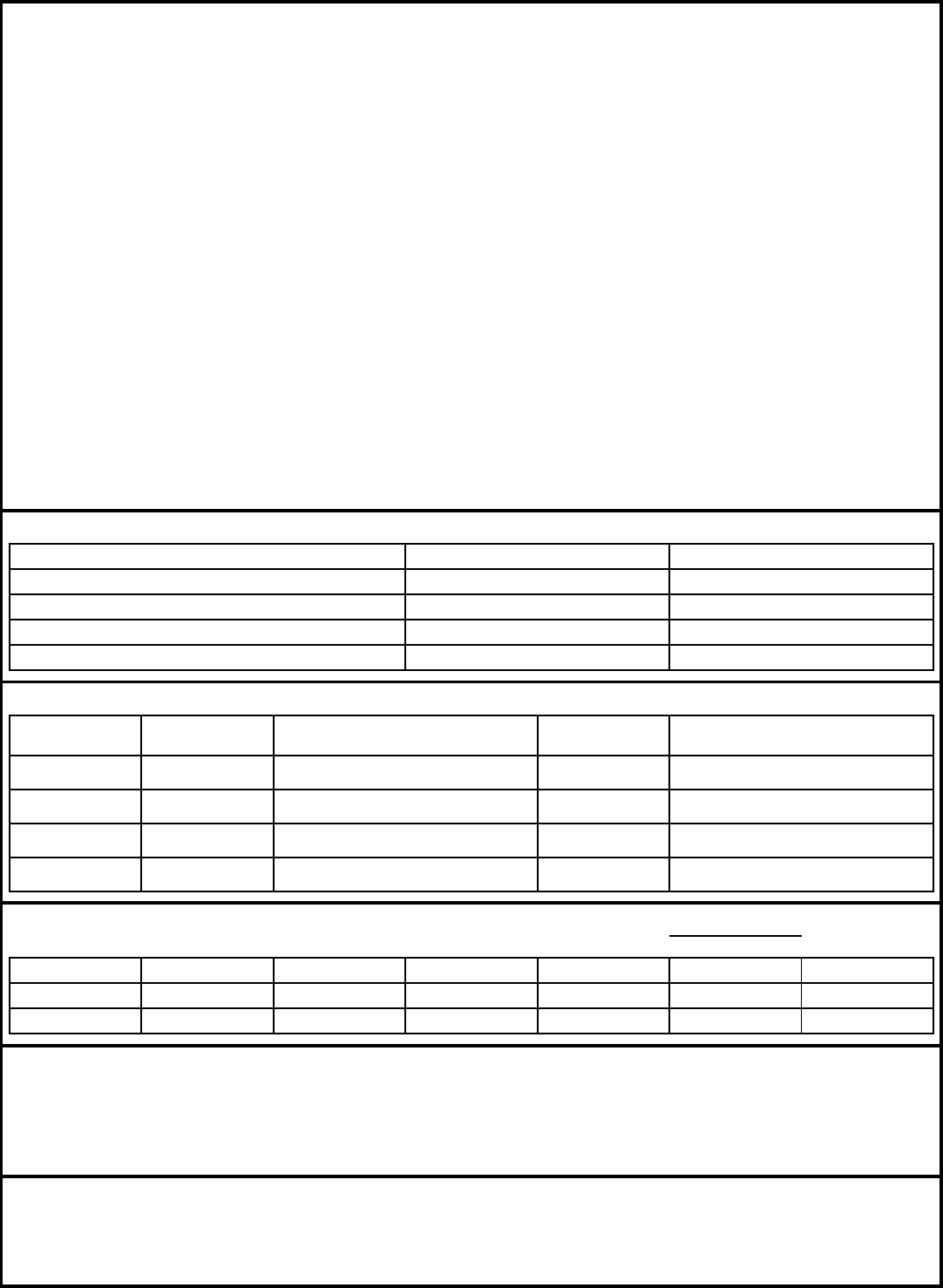 Free Printable Cheddar\'s Job Application Form
