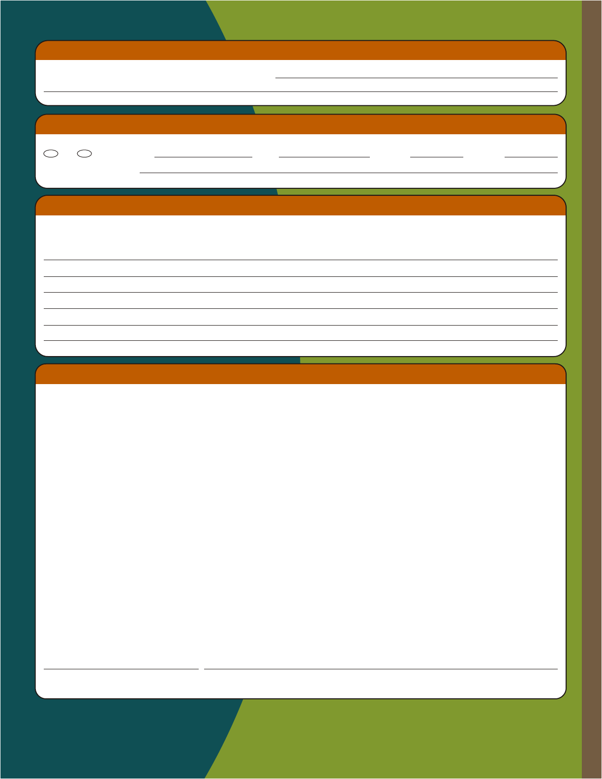Free Printable Chick Fil A Job Application Form Page 2