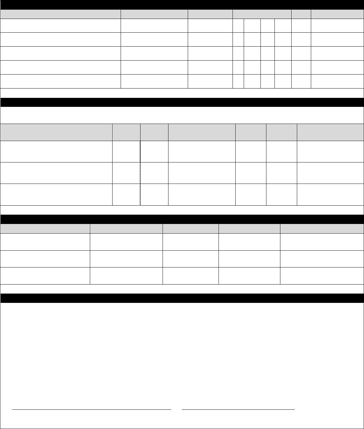 Free Printable Jamba Juice Job Application Form Page 2