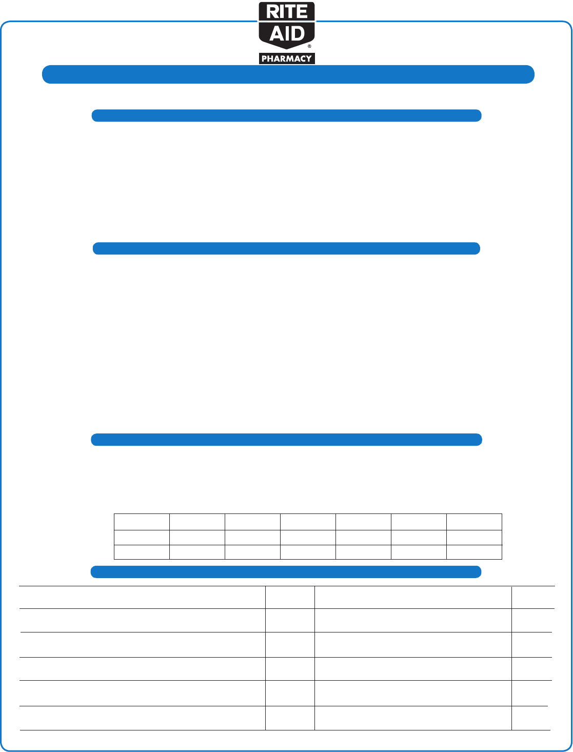 rite aid employment application form - Solid.graphikworks.co