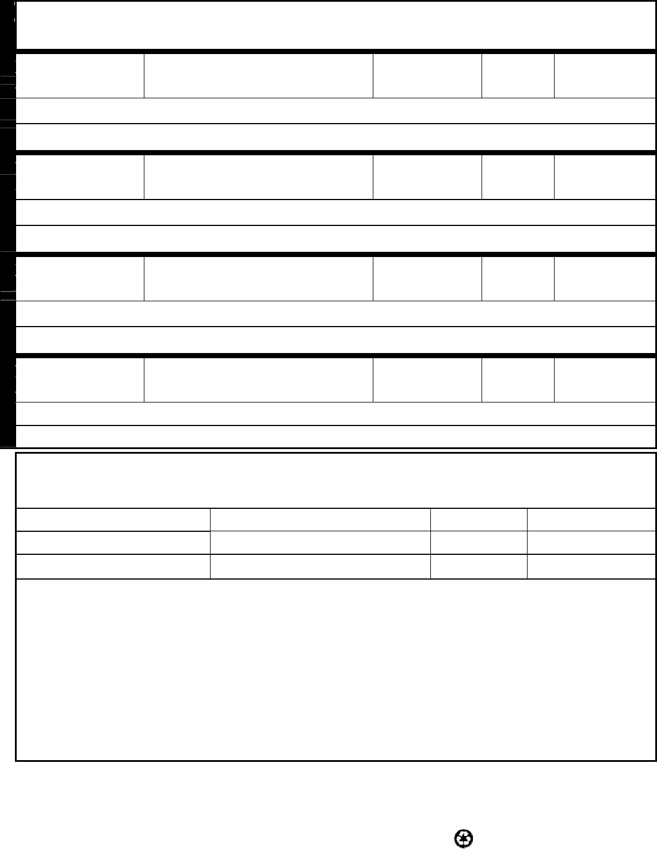 Free Printable Starbucks Job Application Form Page 2