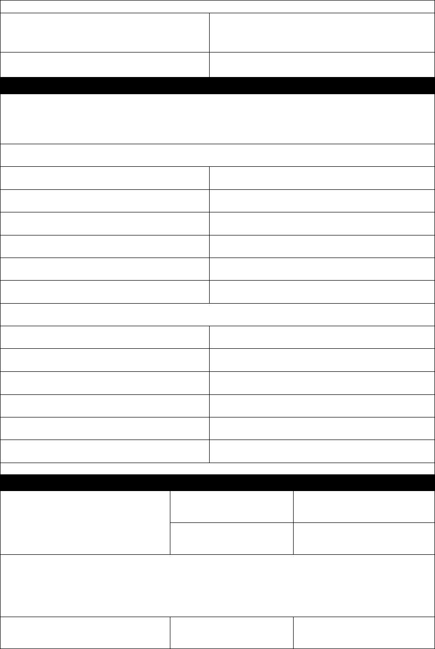 Free Printable Target Job Application Form Page 3