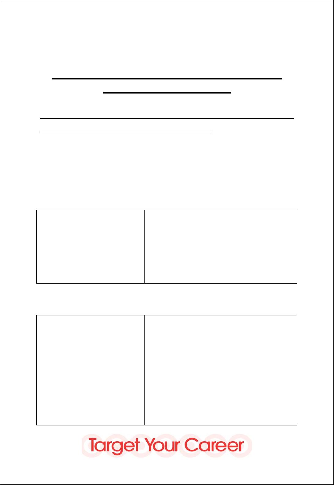 Free Printable Target Job Application Form Page 5