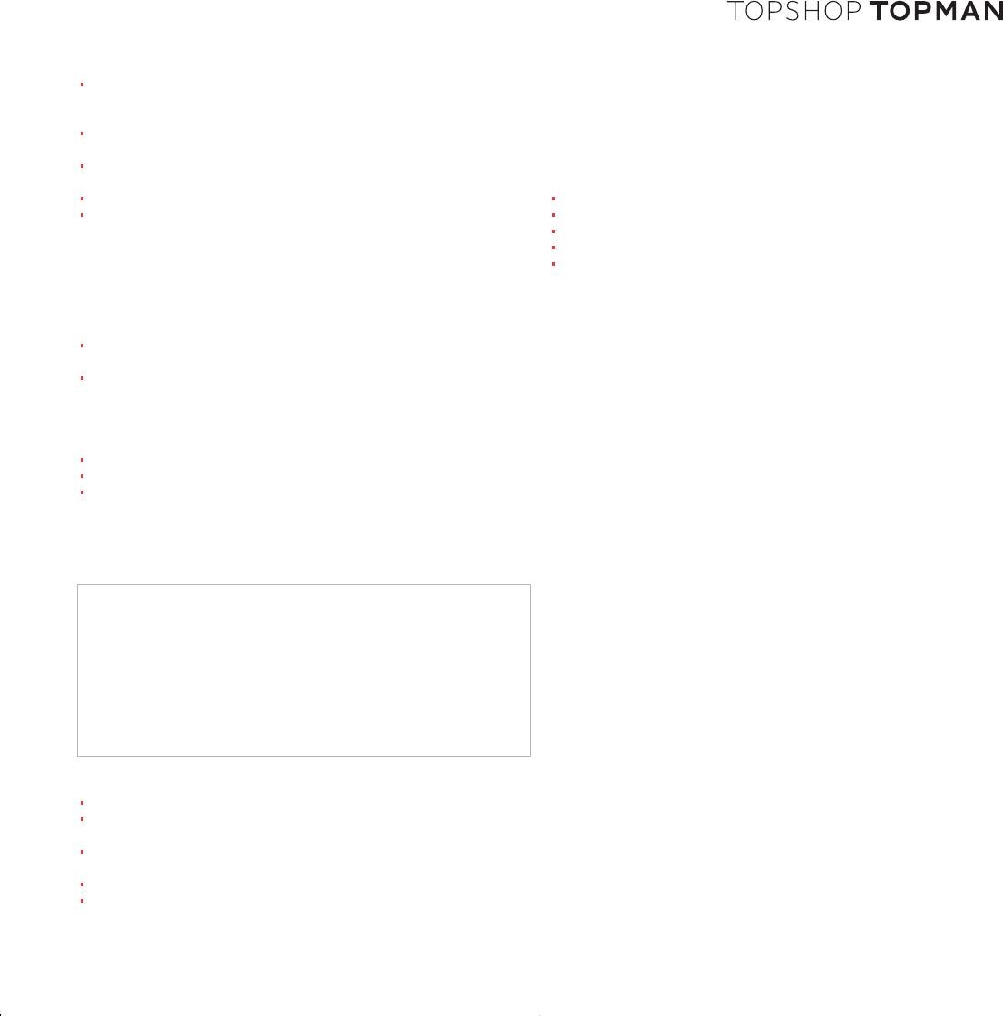 Free printable topshop job application form page 2 falaconquin