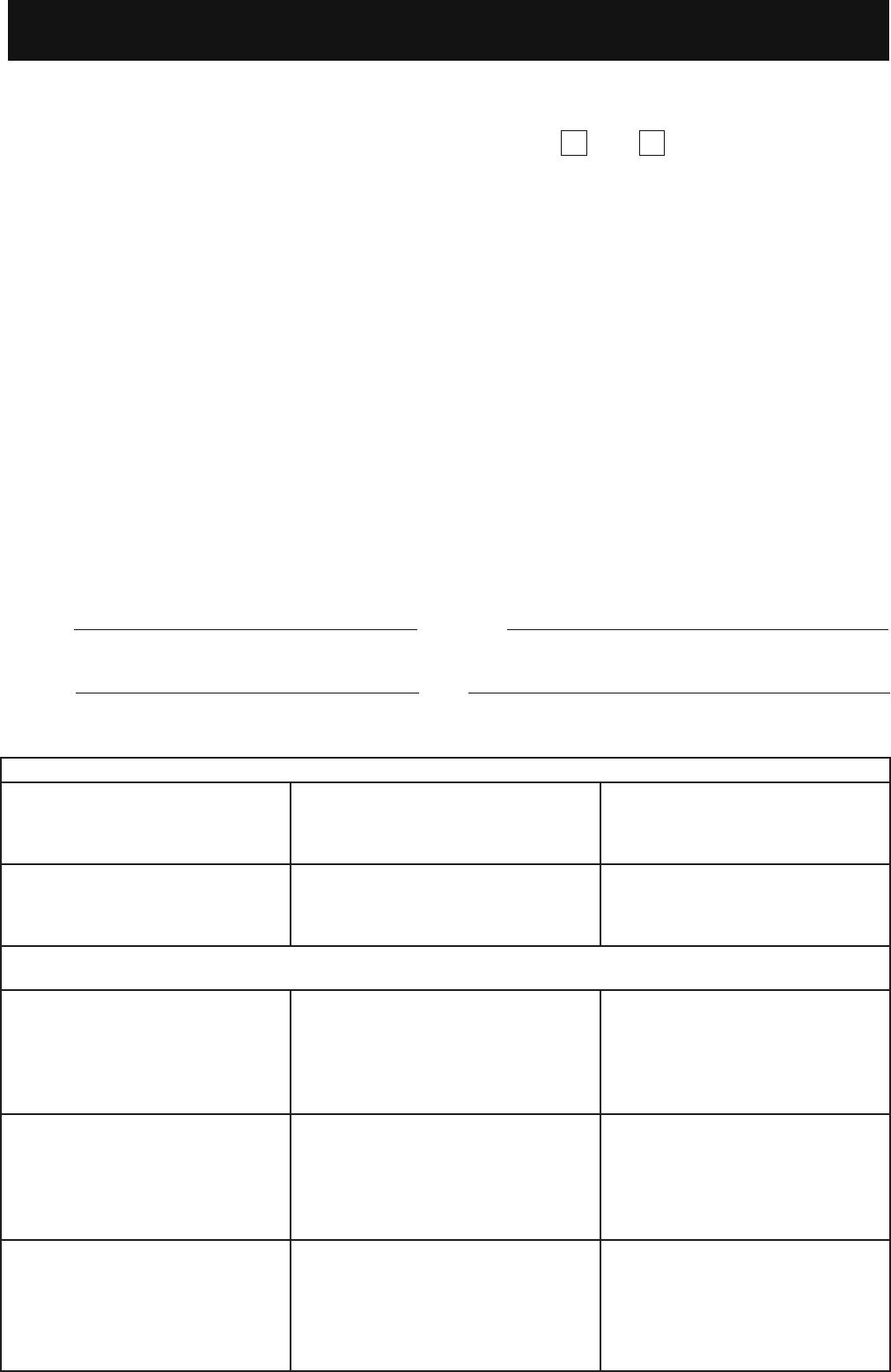 Free Printable Woolworths Job Application Form Page 5
