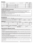 DSW Application Form Page2