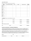 Michael Kors Application Form Page2