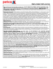 Petco Application Form Page2